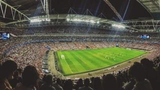 サッカースタジアムのイメージ画像。