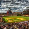 野球場のイメージ画像。